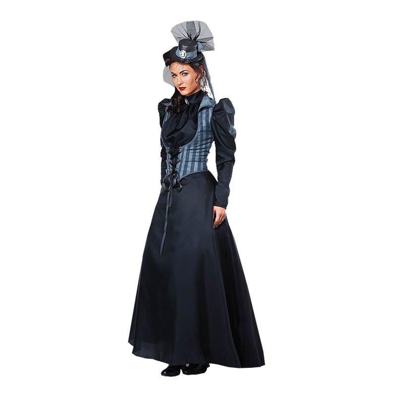 Viktoriansk Kvinna Maskeraddräkt - Medium