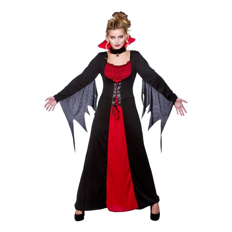 Klassisk Vampyra Maskeraddräkt - Medium