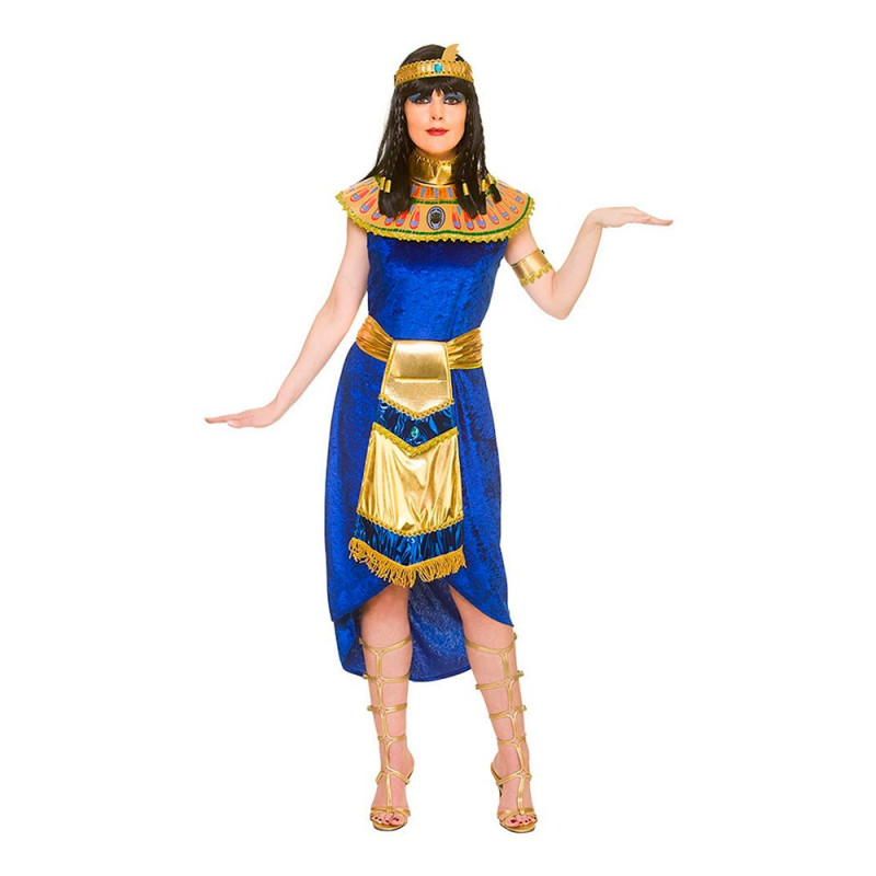 Cleopatra Blå Maskeraddräkt - X-Small