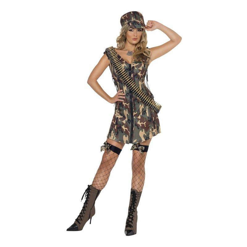 Militärklänning Maskeraddräkt - Medium