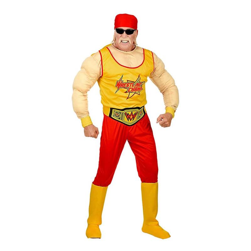 Wrestling Mästare Maskeraddräkt - Large
