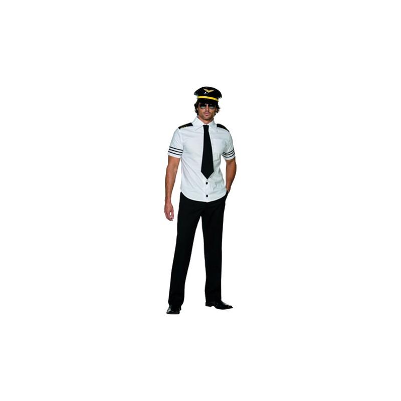 Pilot Hunk Maskeraddräkt - Medium