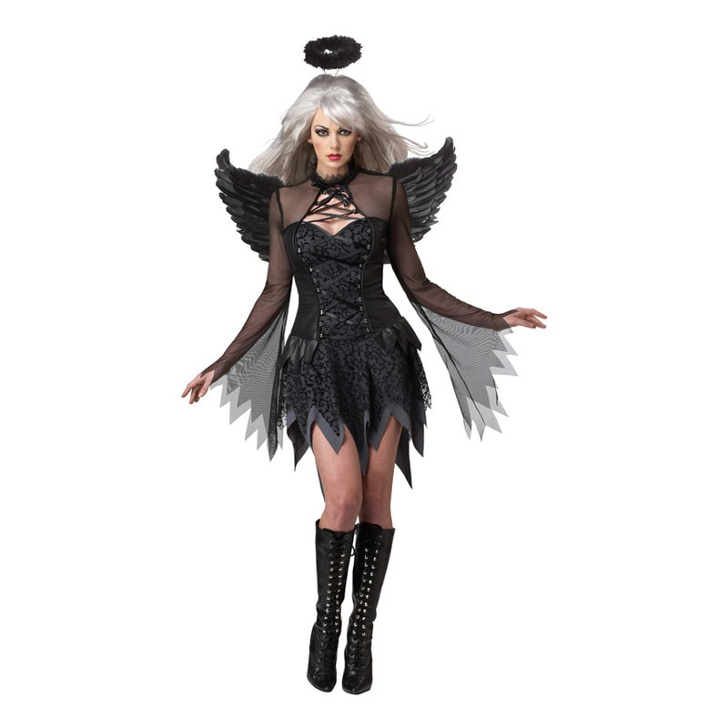 Fallen Angel Maskeraddräkt - Small