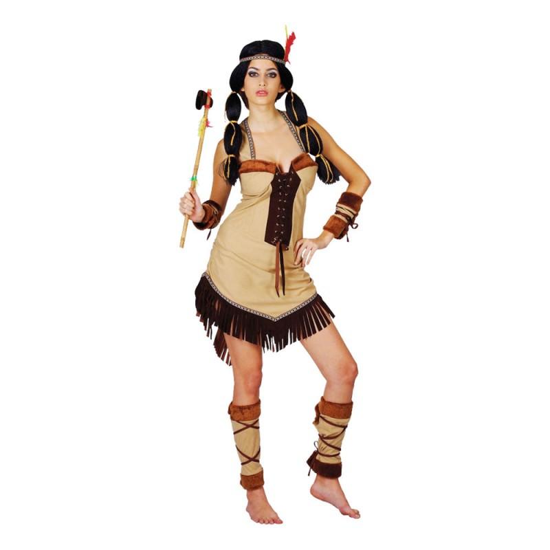 Indianprinsessa Maskeraddräkt - Medium