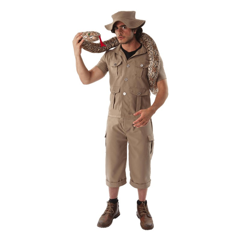 Retro Safari Maskeraddräkt - Standard