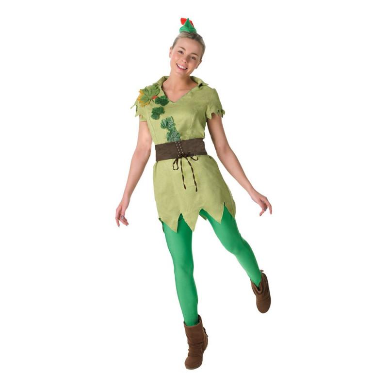 Peter Pan Dam Maskeraddräkt - Medium