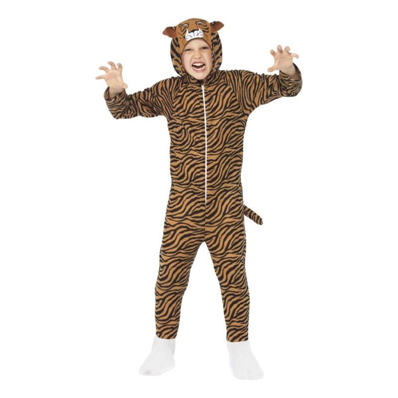 Tigerdräkt Barn Maskeraddräkt - Small