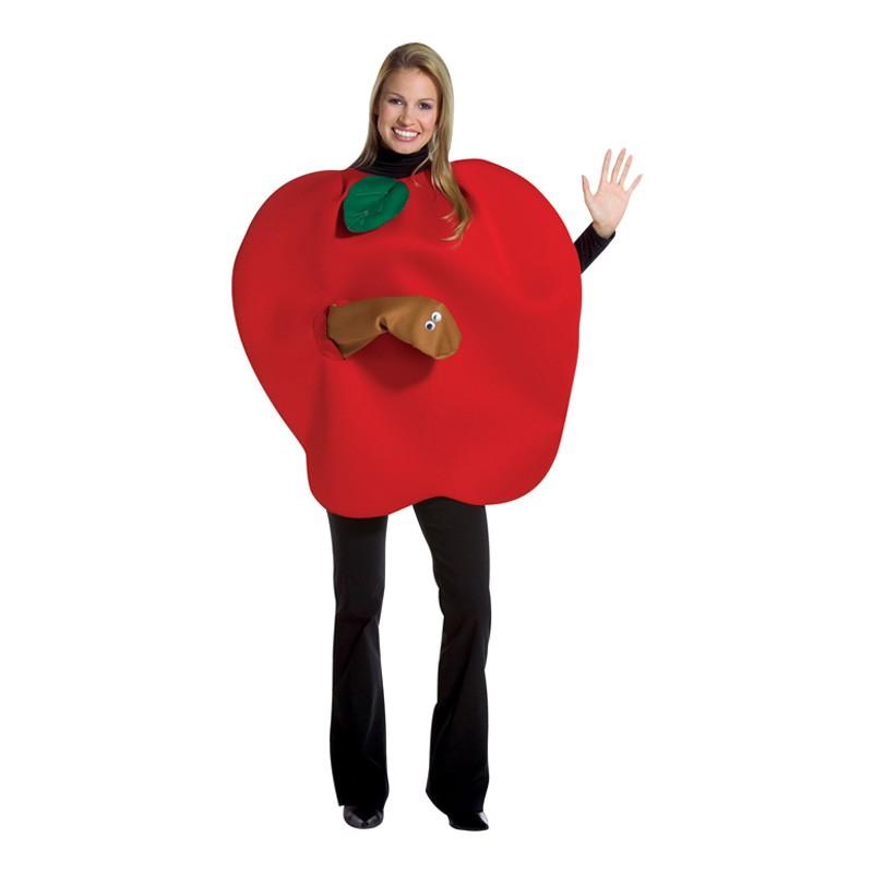 Maskbitet Äpple Maskeraddräkt - One size