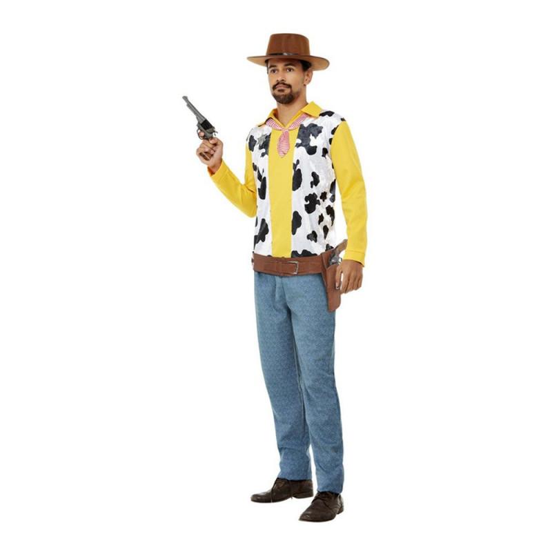 Western Cowboy Maskeraddräkt - X-Large