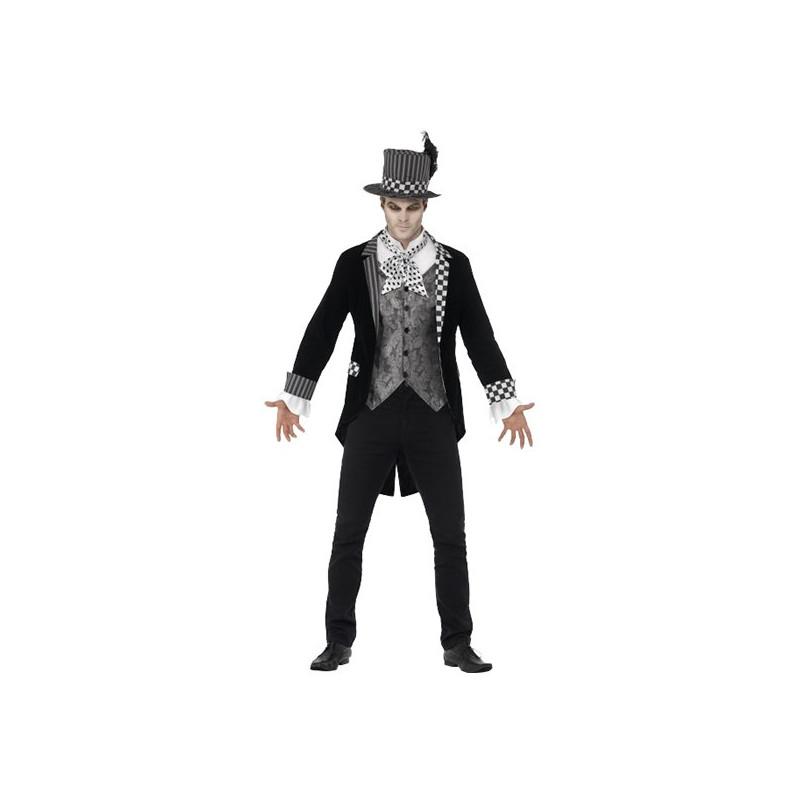 Black Hatter Maskeraddräkt - X-Large