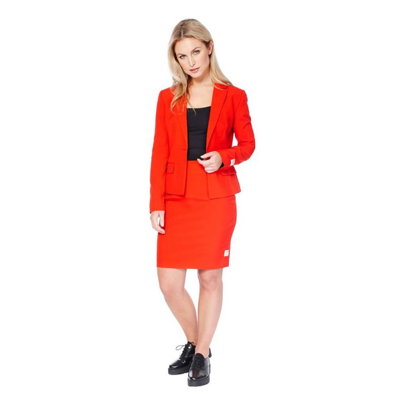 OppoSuits Red Ruby Kostym - 40