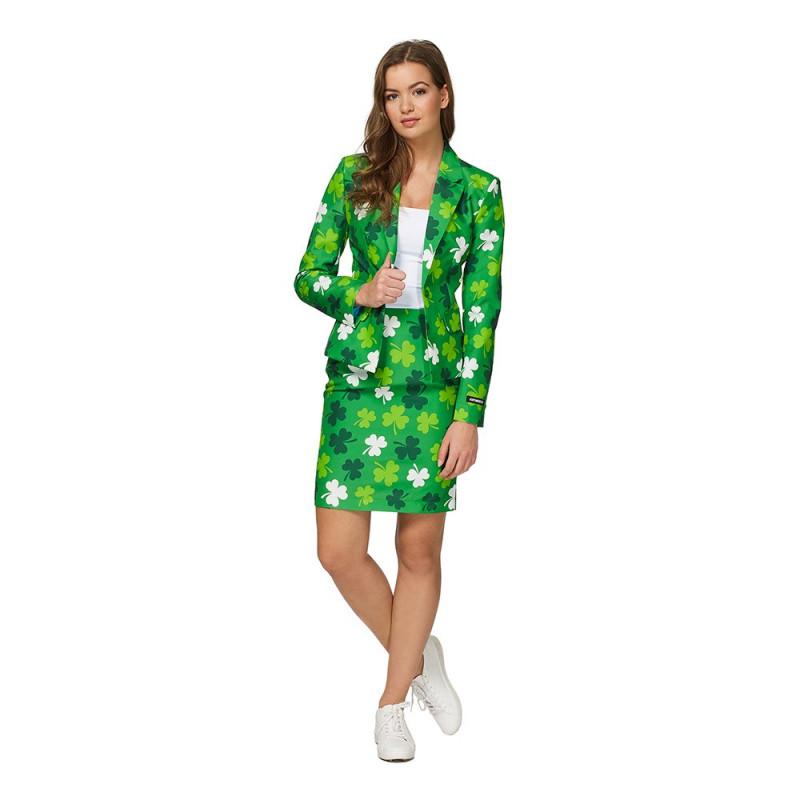Suitmeister St Patricks Day Dam Kostym - Medium