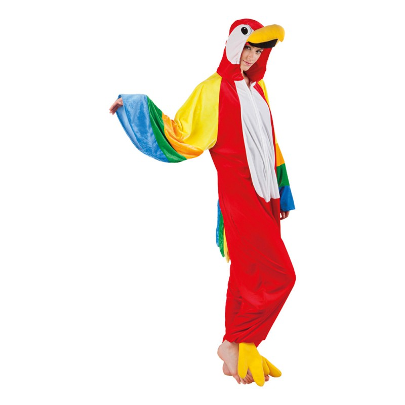 Papegoja Ara Maskeraddräkt - One size