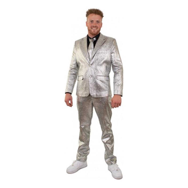 Kostym Silver Herr - 56