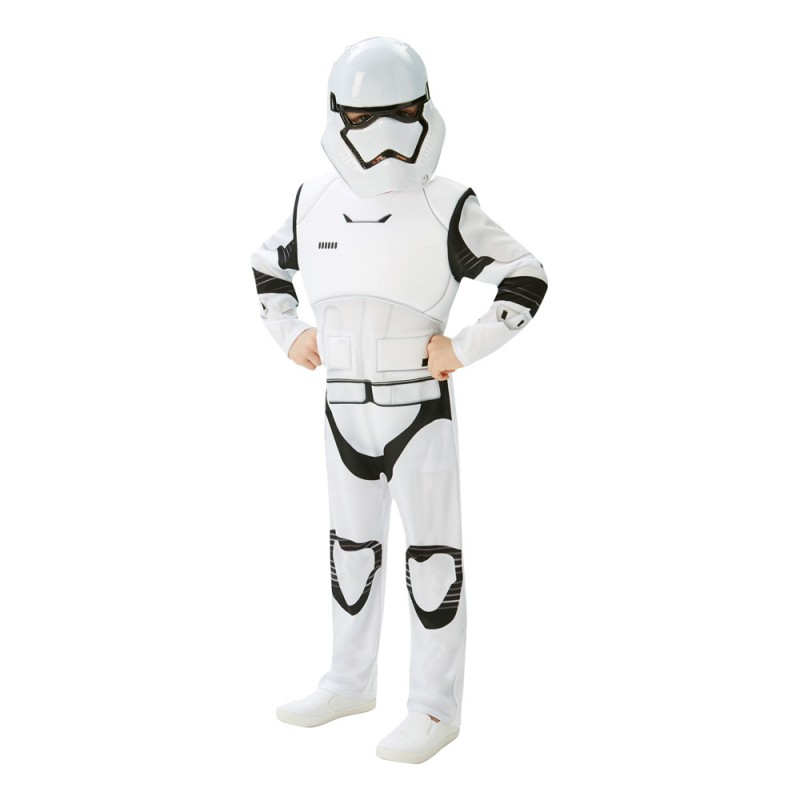 Stormtrooper TFA Deluxe Barn Maskeraddräkt - Medium