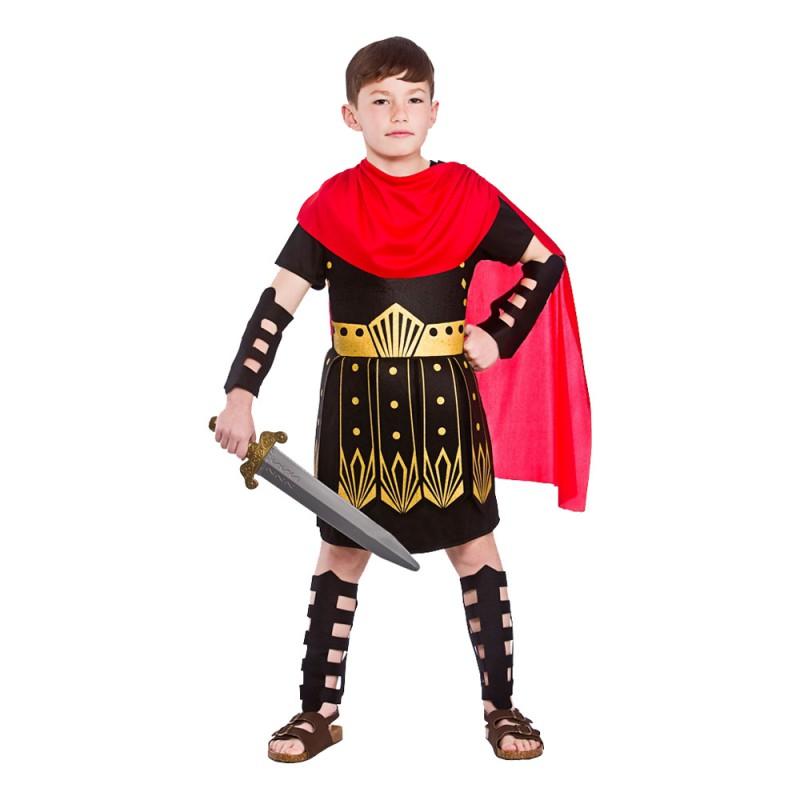 Romersk Krigare Barn Maskeraddräkt - Medium