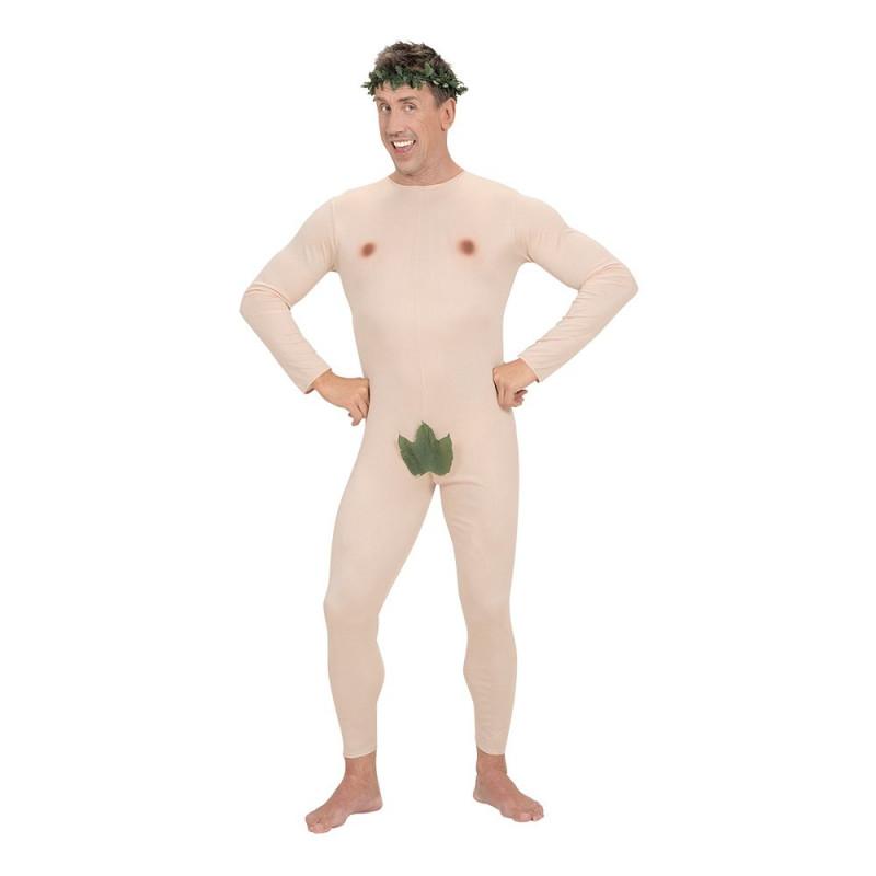 Adam med Löv Maskeraddräkt - X-Large