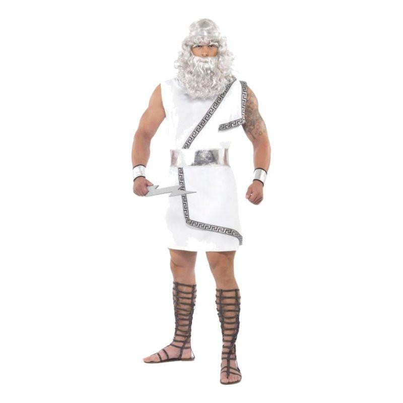Zeus Maskeraddräkt - One size