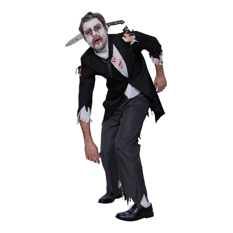 Blodig Butler Maskeraddräkt - Standard