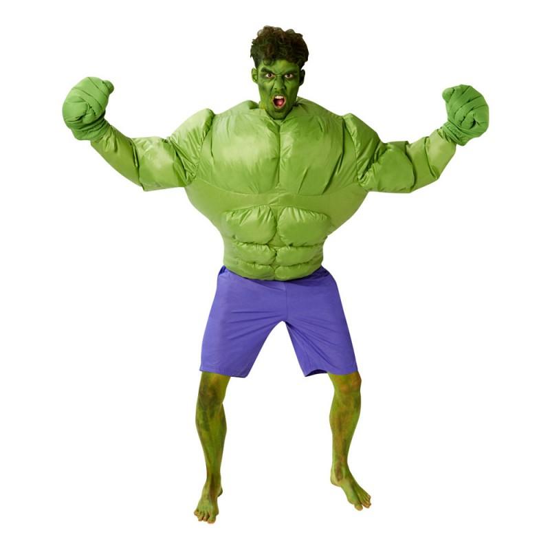 Hulken Uppblåsbar Maskeraddräkt - One size