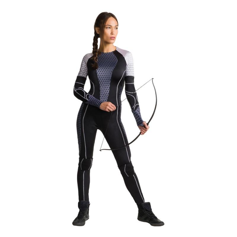 Katniss The Games Maskeraddräkt - X-Small