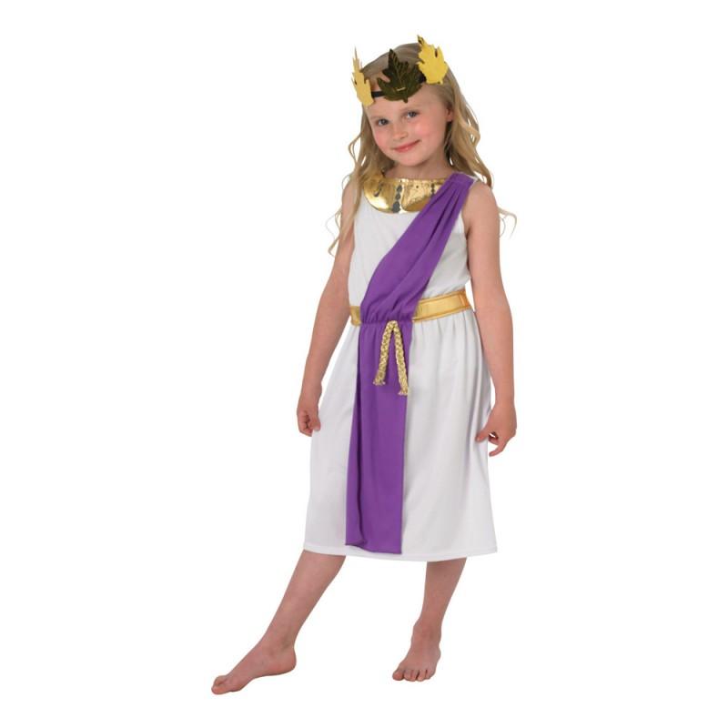 Romersk Flicka Barn Maskeraddräkt - Medium