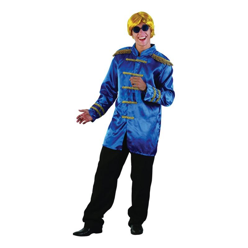 Beatles Blå Maskeraddräkt - One size