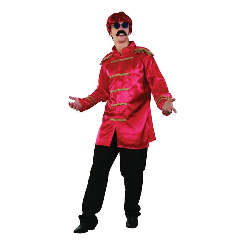 Beatles Röd Maskeraddräkt - One size