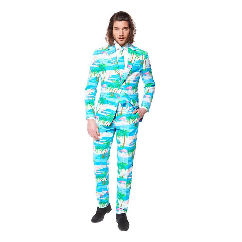 OppoSuits Flaminguy Kostym - 46