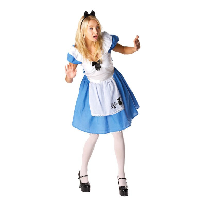 Disney Alice i Underlandet Maskeraddräkt - Medium