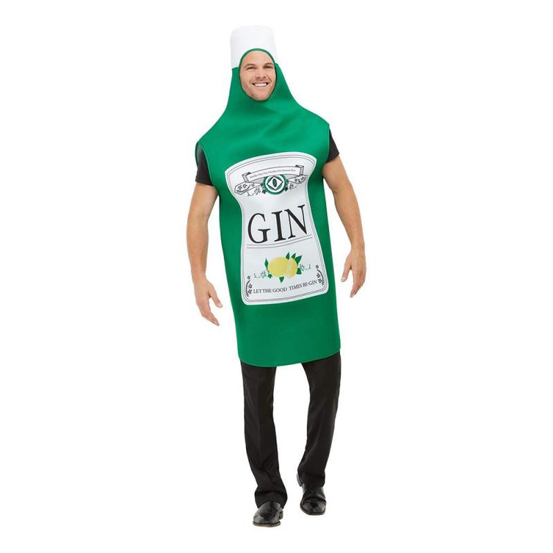 Ginflaska Maskeraddräkt - One size