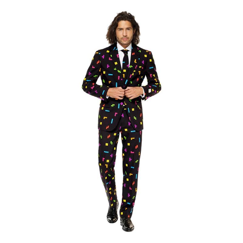 OppoSuits Tetris Kostym - 56