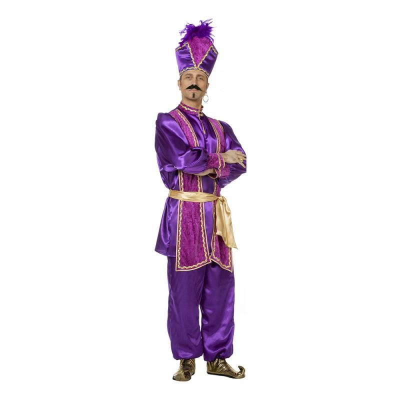Sultan Lila Maskeraddräkt - Small