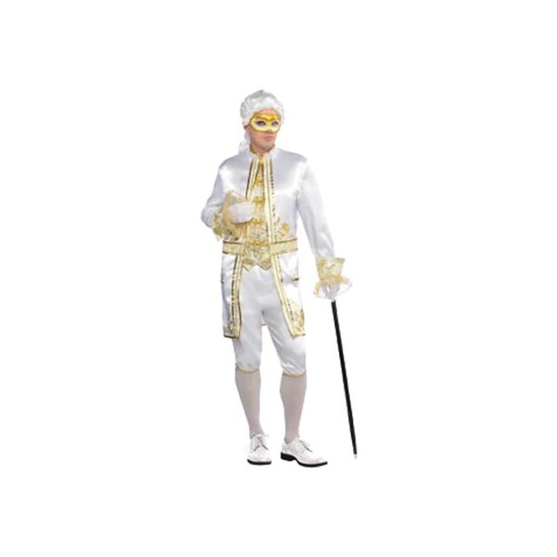 Casanova Maskeradbal Maskeraddräkt - One size