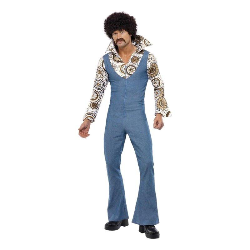 70-tals Groovy Dancer Maskeraddräkt - X-Large