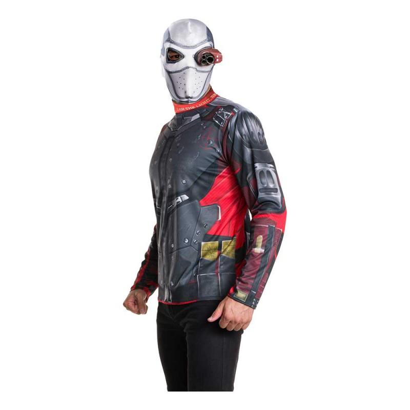 Suicide Squad Deadshot Maskeraddräkt - Standard