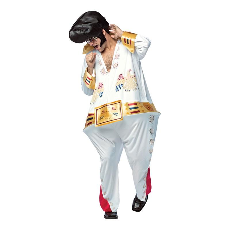 Tjock Elvis Maskeraddräkt - One size