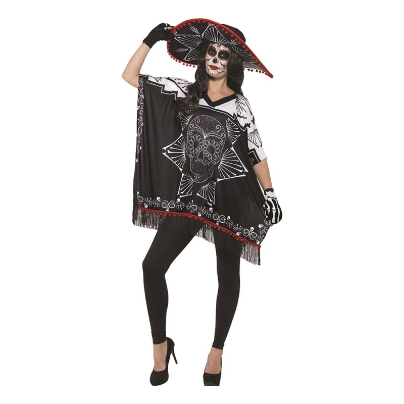Day of the Dead Bandit Maskeraddräkt - One size