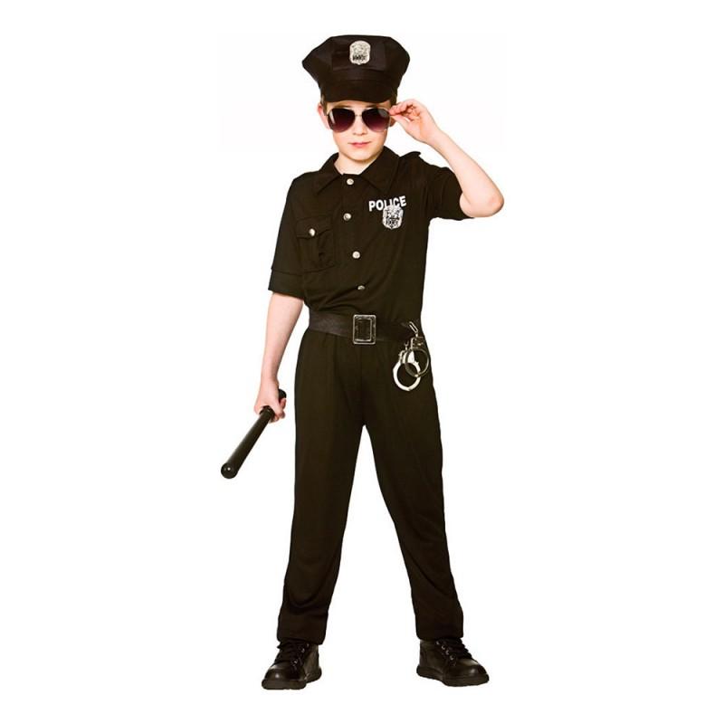 New York Polis Barn Maskeraddräkt - Large