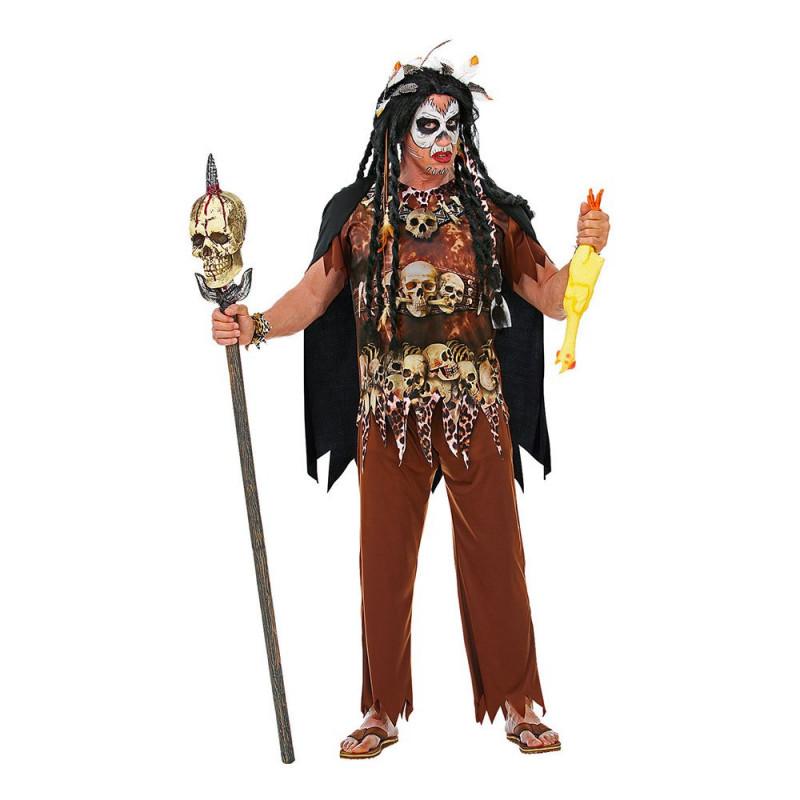 Voodoo Kung Maskeraddräkt - Medium