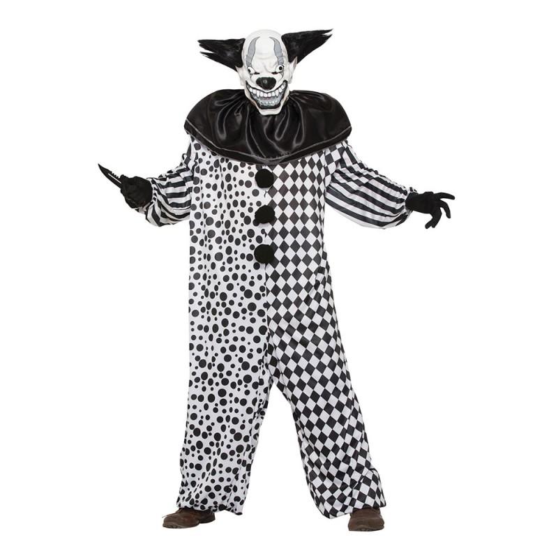 Elake Clownen Al Maskeraddräkt - One size