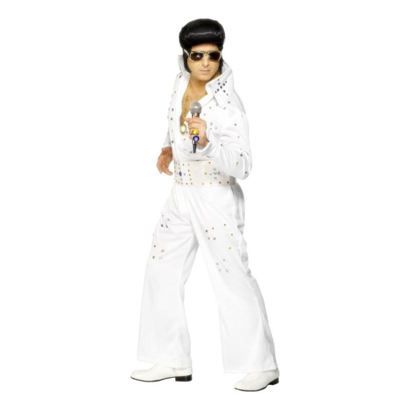 Elvis Las Vegas Maskeraddräkt - Medium