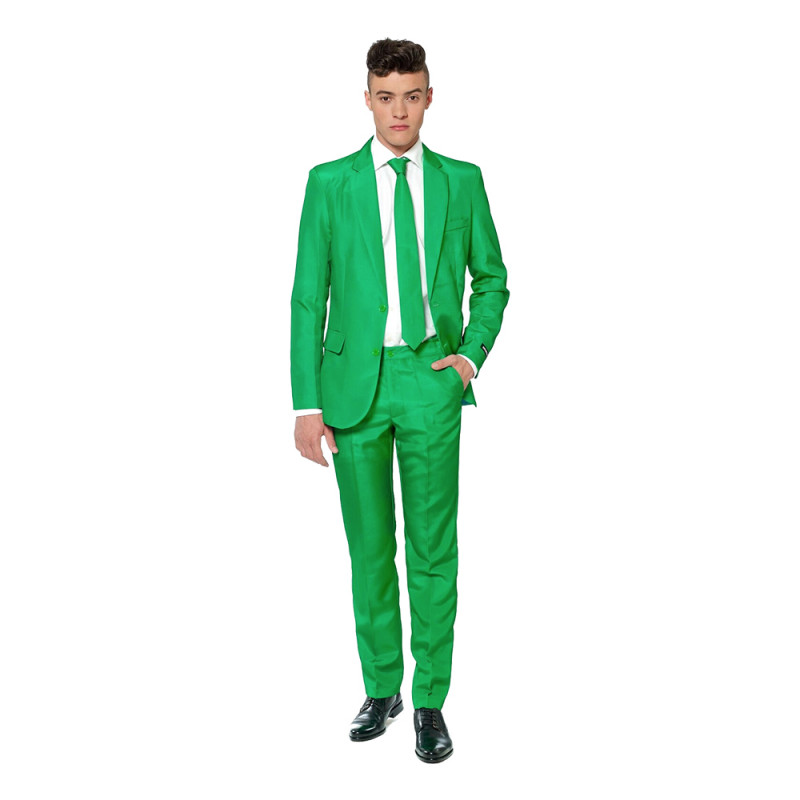Suitmeister Grön Kostym - Large