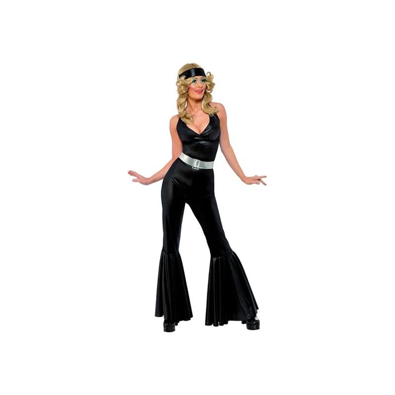 70-tals Disco Diva Maskeraddräkt - Small