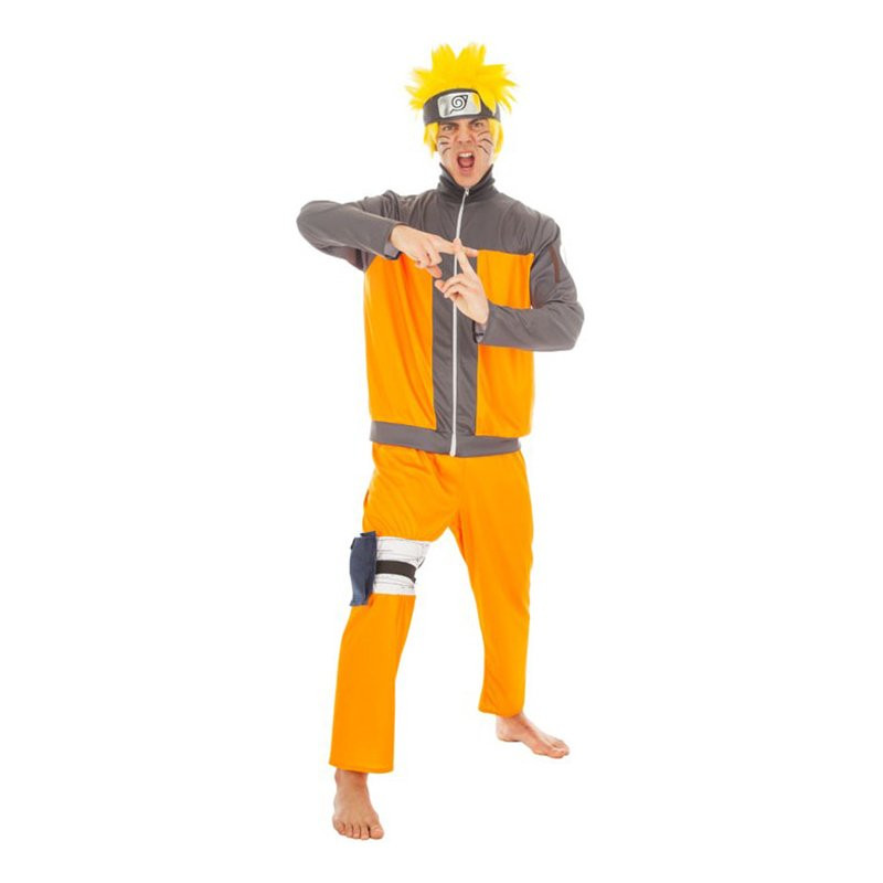 Naruto Deluxe Maskeraddräkt - Large