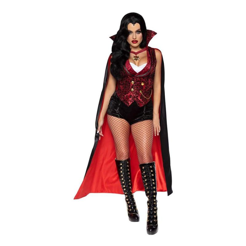 Blodtörstig Vampyr Dam Deluxe Maskeraddräkt - Medium