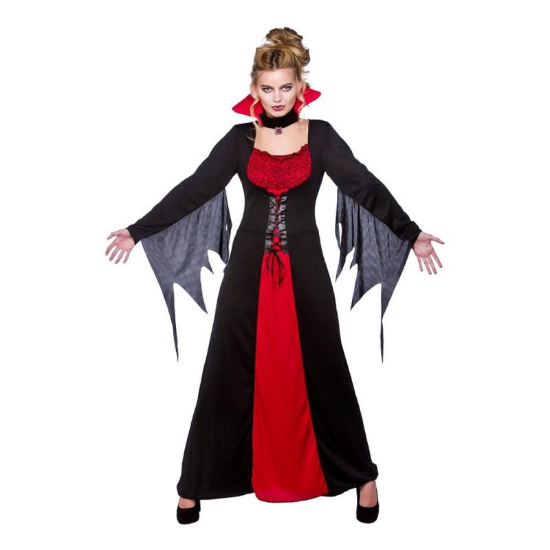 Klassisk Vampyra Maskeraddräkt - X-Large