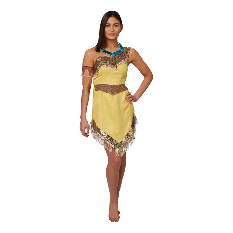 Pocahontas Maskeraddräkt - Medium