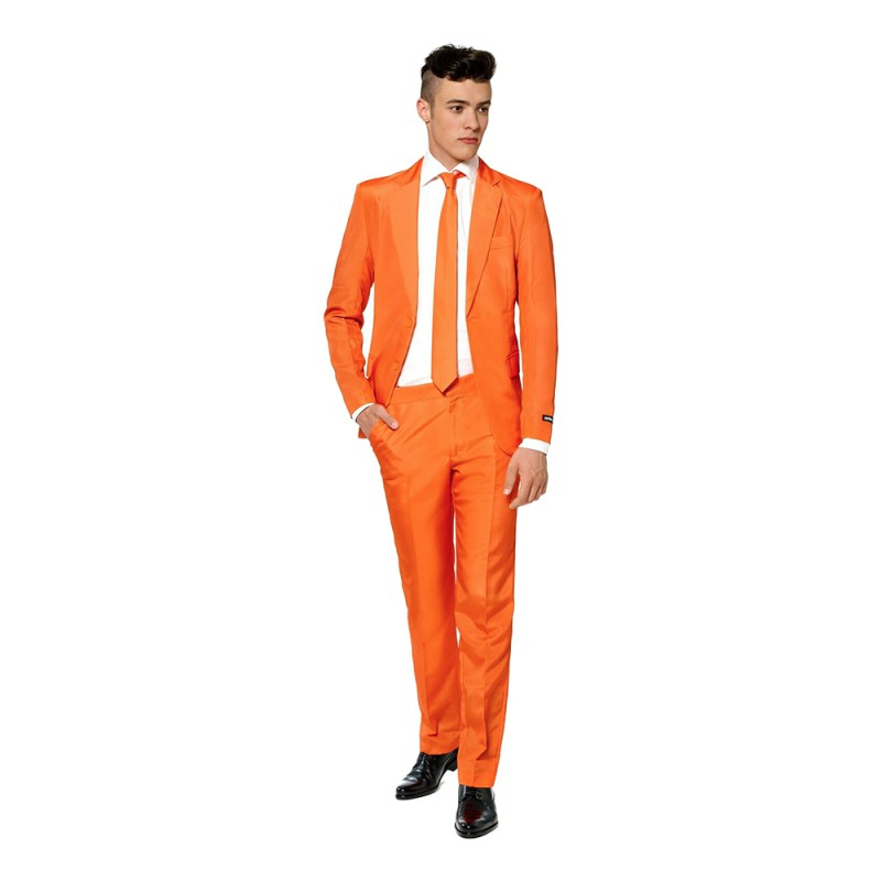 Suitmeister Orange Kostym - Small
