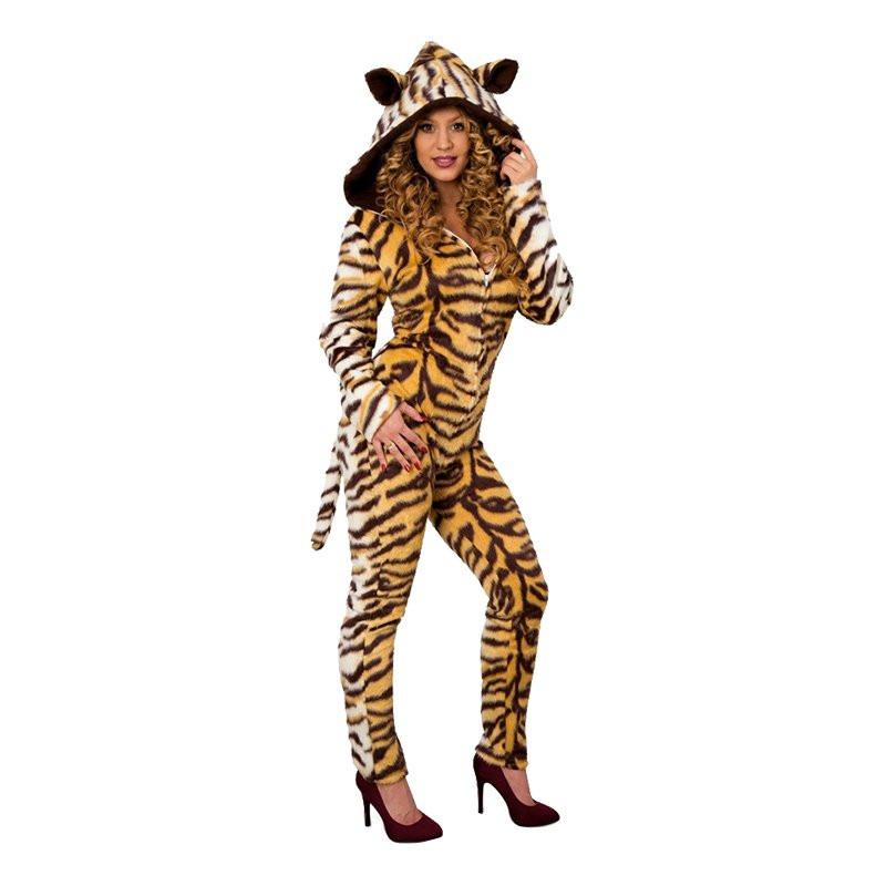 Tiger Catsuit Maskeraddräkt - 38
